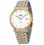 LONGINES  Elegant White Dial Two-Tone Steel Watch $1599