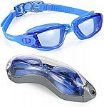 Aegend Swim Goggles w/ No Leaking Anti Fog UV Protection $7.92