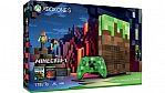 Xbox One S 1TB Minecraft Limited Edition Bundle $229