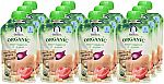 12-Count of 3.5oz Gerber Organic 2nd Foods Baby Food (Mixed Veggies & Chickpeas) $4.50 or Less
