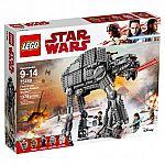 LEGO Star Wars The Last Jedi First Order Heavy Assault Walker 75189 $110