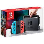Nintendo Switch Console Gray Joy-con $247, Red Blue Joy-Con $255