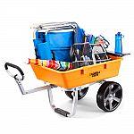 Gorilla Carts 5 cu. ft. Poly Outdoor Beach Cart $66