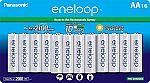 Panasonic Rechargeable Batteries $25, Panasonic eneloop pro High Capacity Power Pack $35