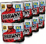 16-pack Brawny Pick-a-Size Paper Towels, White, XL Rolls, $19.92
