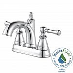 Pfister Autry 4 in. Centerset Single Handle Bathroom Faucet in Polished Chrome $60