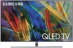 "Samsung 65"" QLED Q7F Series LED Ultra HD 4K Smart TV with HDR (2017 Model) $1400 (w/ Rebate)"