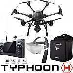 Yuneec Typhoon H RTF Hexacopter Drone with CGO3+ 4K Camera + SkyView FPV Viewfinder + Wizard Wand + BackPack $699 or w/ Extra Battery $749