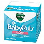 Target: Buy 3 Vicks items, Get $5 Gift Card: 3x 1.76-oz Vicks BabyRub Soothing Ointment + $5 Gift Card for $15 and More