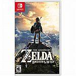(Price Erro???)The Legend of Zelda: Breath of the Wild - Nintendo Switch $15  (Org $60)