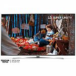 "75"" LG 75SJ8570 4K HDR Smart LED HDTV $1549"