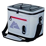 Ozark Trail 20 Can Leaktight Cooler + Ozark Trail 12-Ounce Vacuum Insulated Can Cooler with Metal Gasket $24