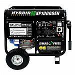DuroMax 10000 Watt Hybrid Dual Fuel Portable Gas Propane Generator - RV Standby $549