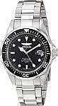 Invicta Men's 8932 Pro Diver Collection Silver-Tone Watch $34 & More