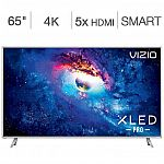 "Vizio 65"" Class (64.5"" Diag.) 4K Ultra HD XLED Pro Home Theater Display $1100"