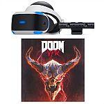 PlayStation VR Bundle + $25 Dell Promo eGift Card $199