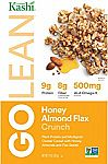 4-Pack of 14-oz Kashi GOLEAN Crunch! Cereal (Honey Almond Flax) $7.50 or Less (Prime Only)
