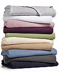 Lauren Ralph Lauren Classic 100% Cotton Blankets Twin $18, Queen $20, King $23