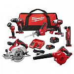 Home Depot - Up to 47% Off Milwaukee M18 Lithium-Ion Power Tool Sale