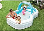 "Intex Family Cabana Swim Center Pool, 122"" x 74"" x 51"" $16"