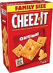 3-Pack Family Size (21 Oz) Cheez-It Original Baked Snack Cheese Crackers $8.62