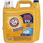 Arm & Hammer 255 oz. HE Clean Burst Liquid Laundry Detergent $7 (Home Depot In store only)