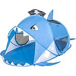Kid's Pop Up Tent Shark $6