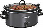 Crock-Pot Cook & Carry 5-Quart Slow Cooker (Metallic) $17.49 (50% Off)