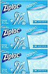 Ziploc Limited Edition Holiday Freezer Bags, Quart, 114 Count $5.94 (Add-On Item)