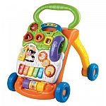 Up to 50% Off Toy Sale: VTech Sit to Stand Learning Walker $10 & More