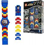 LEGO Superman Kids Minifigure Link Buildable Watch $12 (Save 52%) and More