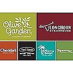 $100 Darden Gift Card (Longhorn Steak House, Olive Garden) $85, $100 Bed Bath & Beyond GC for $90