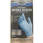 Firm Grip Nitrile Glove, 100-Count $4.37