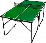 Franklin Sports Official Height Mid Size Table Tennis Table $56 (Save 72%) + Free Shipping
