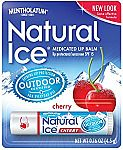 12-Count Mentholatum Natural Ice Medicated Lip Protectant (SPF 15) Cherry Balm $8.59 or Less