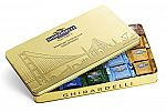 100-Count Ghirardelli San Francisco Gold Xl Tin (48.66 Ounce) $14