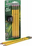 My First Ticonderoga Primary Size #2 Beginner Pencils (4 Pencils with Bonus Sharpener) $1.42