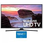 "SAMSUNG 55"" Class 4K (2160P) Ultra HD Smart LED TV (UN55MU6290) with $100 Walmart Gift Card $498"