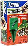 8-ct TERRO T1812 Outdoor Liquid Ant Killer Bait Stakes  (0.25 oz each) $4.99