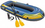 Intex Challenger 2, 2-Person Inflatable Boat Set (Oars and pump) $25.83 and more