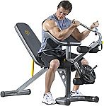 Gold's Gym XRS 20 Olympic Workout Bench with Squat Rack $139