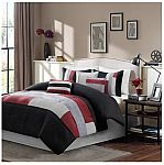 7-Piece Canyon Comforter Set (queen) $20 and more