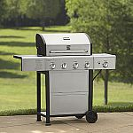 Kenmore 4-Burner Gas Grill with Side Burner $180 + Get Back $180 SYW Points (Free after SYW Points)