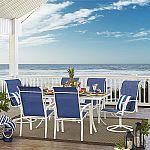 Garden Oasis Harrison 7 pc. Glass-Top Dining Set + Get $350 Reward back $350