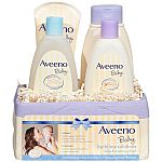Aveeno Baby Daily Bath Time Solutions Gift Set To Prevent Dry Skin $11.20