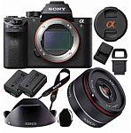 Sony Camera Sale: Sony a7R II (Body) + Rokinon 35mm f/2.8 FE Lens $2148 and more