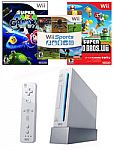 Nintendo Wii Console Blast from the Past Essentials Bundle $50 + Free Shipping
