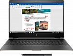 "HP Spectre x360 2-in-1 15.6"" 4K UHD Touch-Screen Laptop (i7-8550U 16GB 512GB SSD GeForce MX150) $1099"