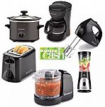 Toastmaster Slow Cooker, Blender, Hand Mixer, More + $10 Kohls Cash 3 for $6.40 After Rebate, Hamilton Beach Small Appliance 3 for $21