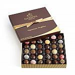 (Today only) Godiva 36 pc. Signature Chocolate Truffles Gift Box, Classic Ribbon, $54.60 (30% off)